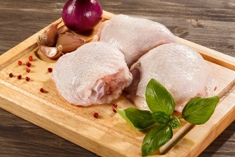 Chicken Thighs Organic Bone In (1.25-1.5lb)