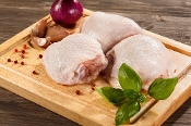 Chicken, Bone-in Thighs, Organic (1.25lb)