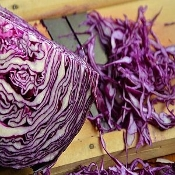 Cabbage Red Organic Each Approx 2 lb