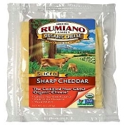 Cheddar Sharp - Organic Grass Fed Cheese 6 oz