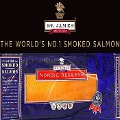 Salmon Smoked Premium Hand Sliced/Skinless (3lb)