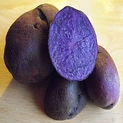Potatoes Purple Majesty (1 or 5lb)
