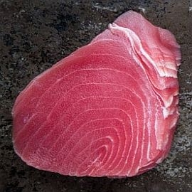 Tuna, Ahi- Yellowfin Steak (Sushi Grade) 12oz