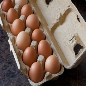 Eggs Certified Organic Cage Free Brown (Per Dozen)