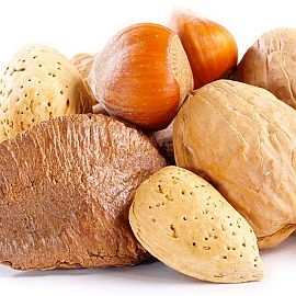 Nuts, Mixed - Raw in Shell (by the lb.)