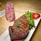 Beef - Ribeye Steak Grass Fed, Organic 10 oz