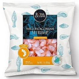 Wild Patagonian Shrimp Uncooked (1lb. Bag = 20 to 30 pcs)