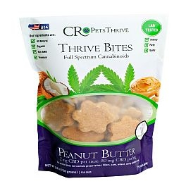 CR Pets - Thrive Bites Pumpkin or Peanut Butter (2 or 5 mg)