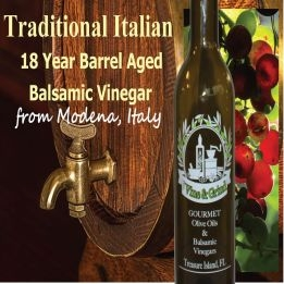 Traditional Balsamic Vinegar 18 Year Aged (200, 375, 750ml)